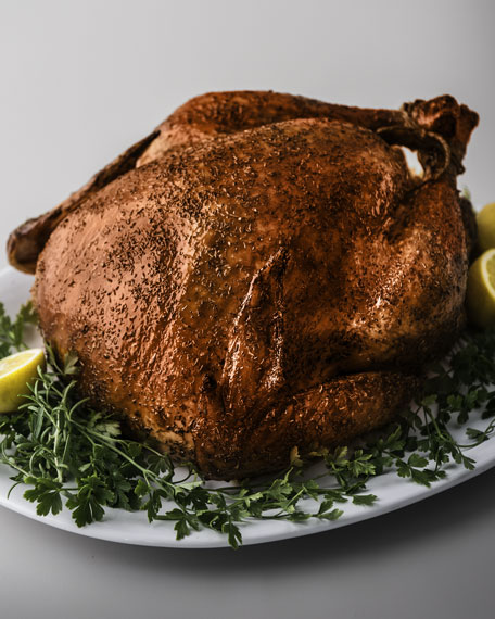 Whole Cajun Fried Turkey, For 12-15 People
