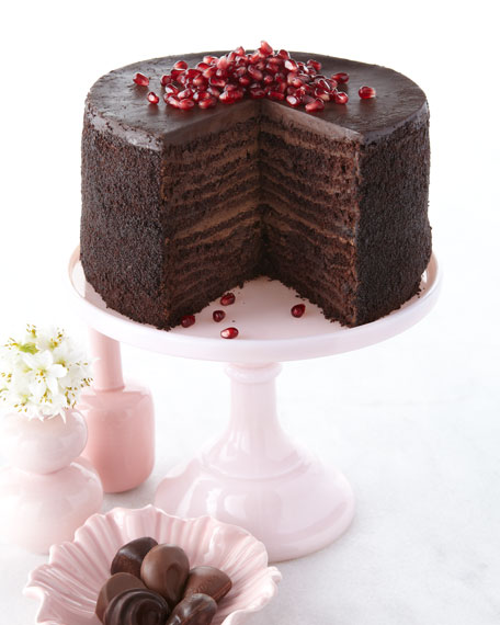 24-Layer Chocolate Cake