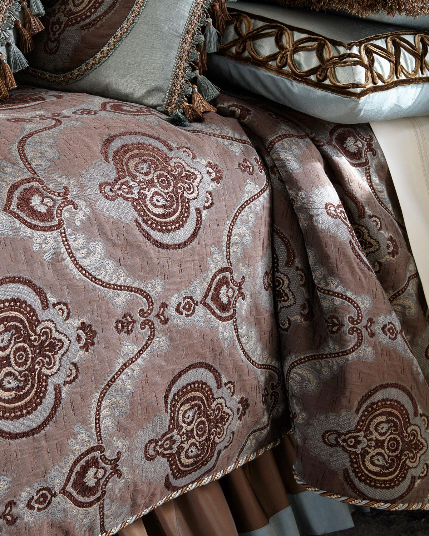 Dian Austin Couture Home Brompton Court King Duvet Cover Neiman Marcus