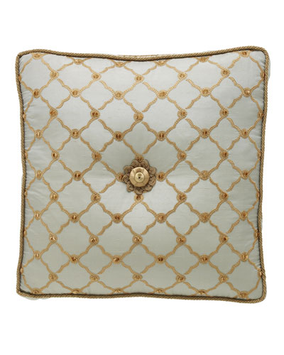 Dian Austin Couture Home Petit Trianon Tufted Pillow,