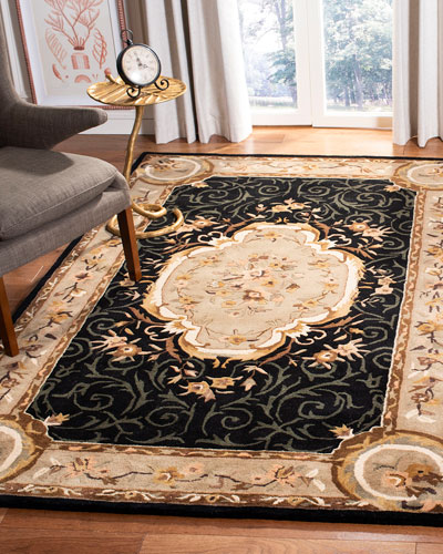 Aubusson Night Rug, 7'6