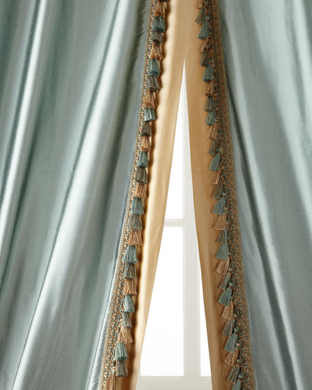 "Each Villa di Como Curtain, 96""L"