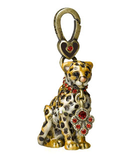"Jay Strongwater ""Mara"" Leopard Charm"