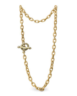 "Jay Strongwater ""Jeanne"" Necklace, 18 1/2"""