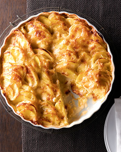 Swiss Truffle Potato Pie