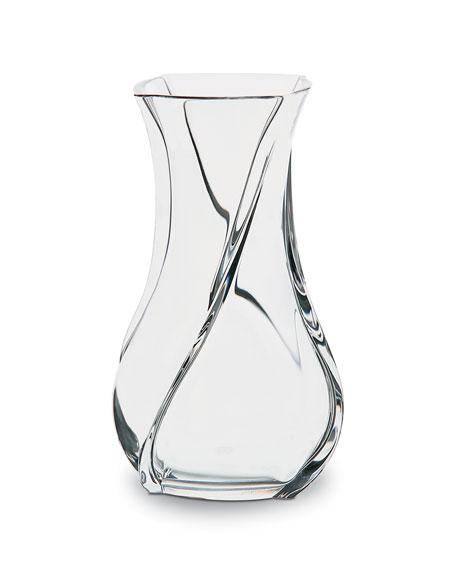 Baccarat Serpentin Vase, Medium