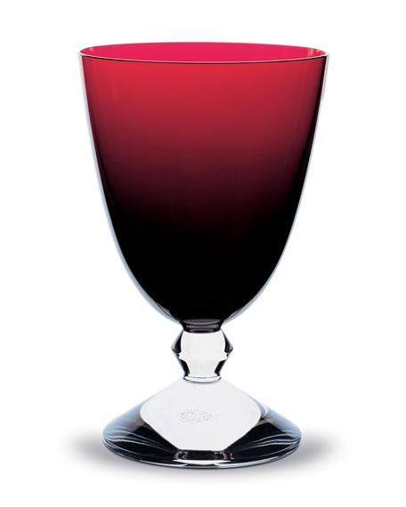 Vega Water Glass, Ruby