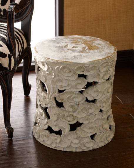 Hang Fai Antique Garden Stool