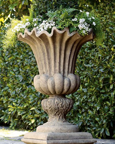 Acanthus Urn & Pedestal & Matching Items