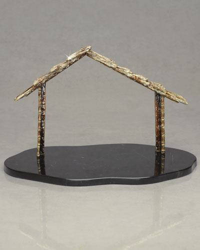 Nativity Creche & Marble Base