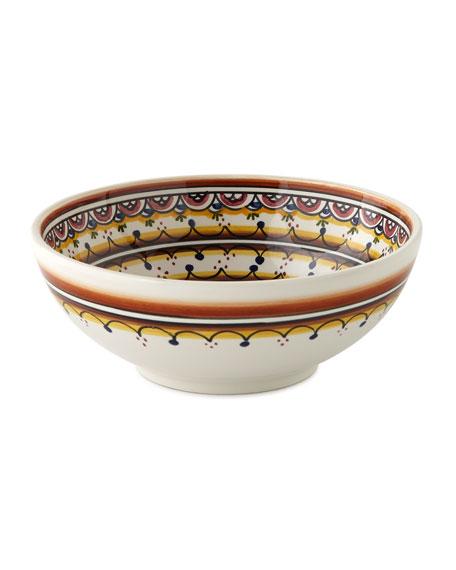 Keramos Nazari Four Pavoes Cereal Bowls