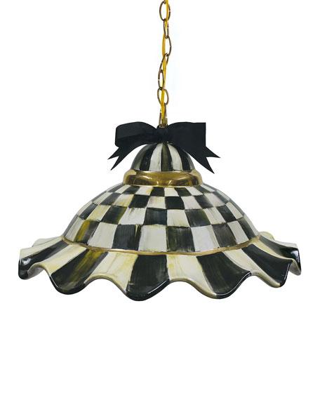 MacKenzie-Childs Fluted Hanging Lamp