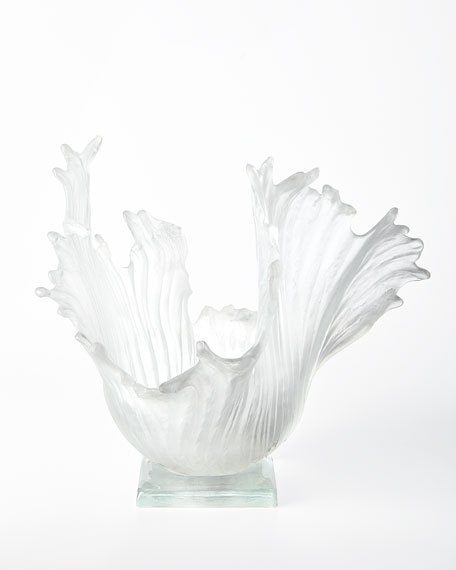 Amanda Brisbane Ice Ribbons Sculpture