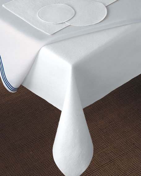 Matouk X Oblong Dining Table Pad Neiman Marcus - Oblong table pad