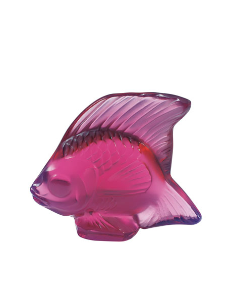 Lalique Angelfish Figurine & Matching Items