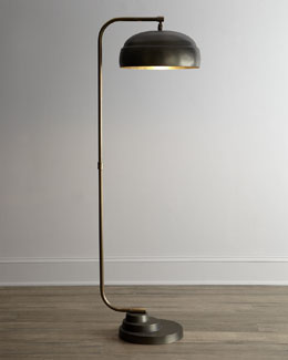 "Jamie Young ""Steampunk"" Floor Lamp"