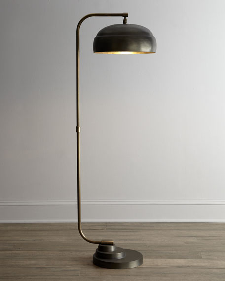 Jamie Young Steampunk Floor Lamp - Mother-of-Pearl Floor Lamp Neiman Marcus