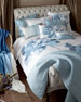 Silver Tufted Bed