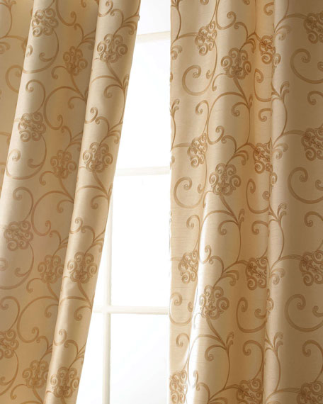"Each Paris Curtain, 55""W x 108""L"