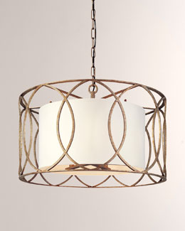 "Troy Lighting ""Sausalito"" Five-Light Chandelier"