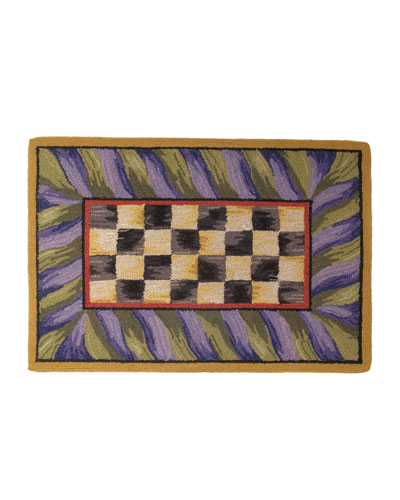 MacKenzie-Childs Courtly Check Rug, 2' x 3'
