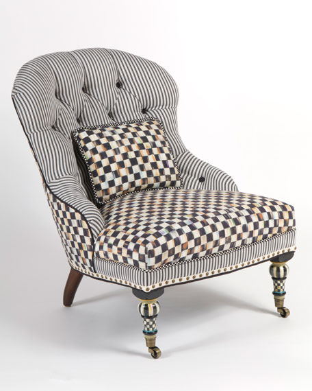"""Underpinnings"" Accent Chair"