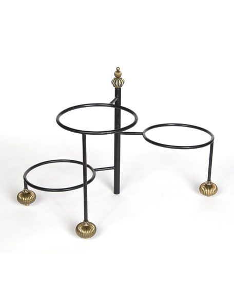 MacKenzie-Childs Courtly Check 3-Tier Stands