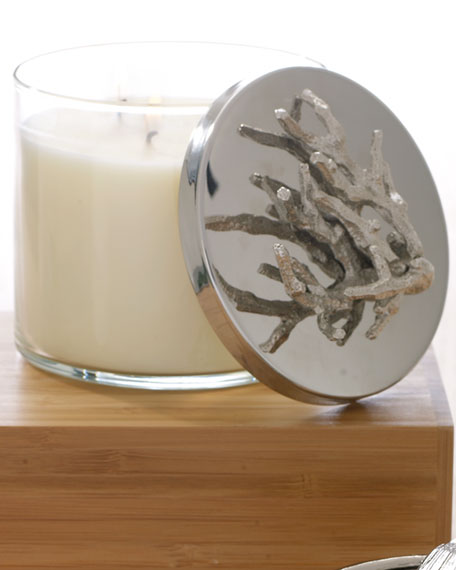 Ocean Coral Candle