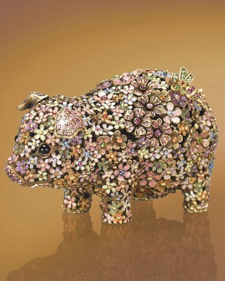 """Susanna"" Pig Figurine"