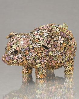 "Jay Strongwater ""Susanna"" Pig Figurine"