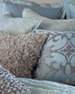 """Lili Alessandra Jackie Quilted European Pillow, 32""""Sq."""