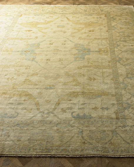 Exquisite Rugs Meadow Oushak Rug, 6' x 9'