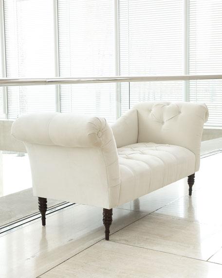 White Pandora Settee