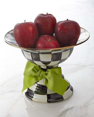 Large Courtly Check Compote