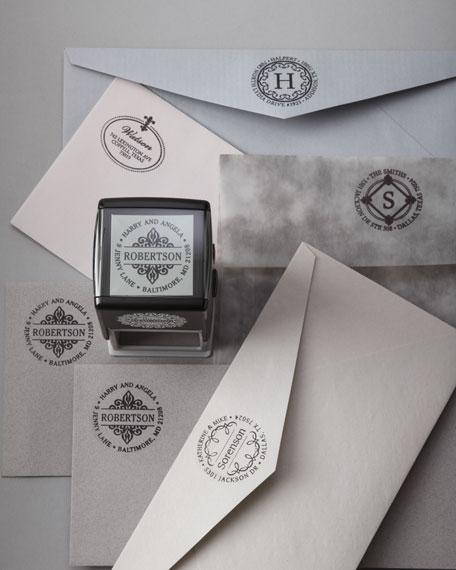 Three Designing Women Emblem Address Stamp