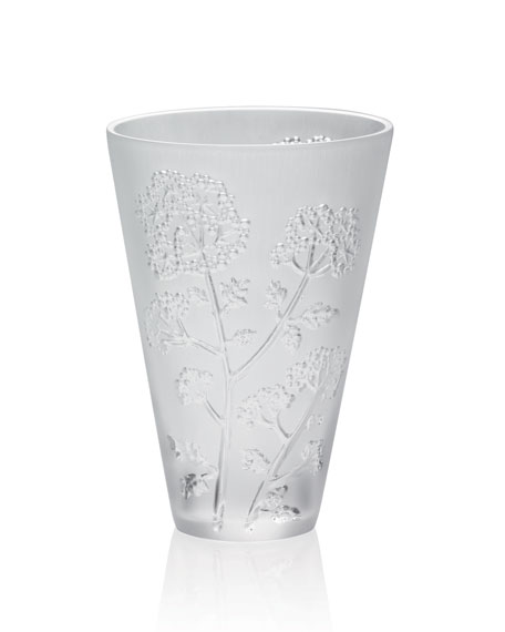Small Ombelle Crystal Vase