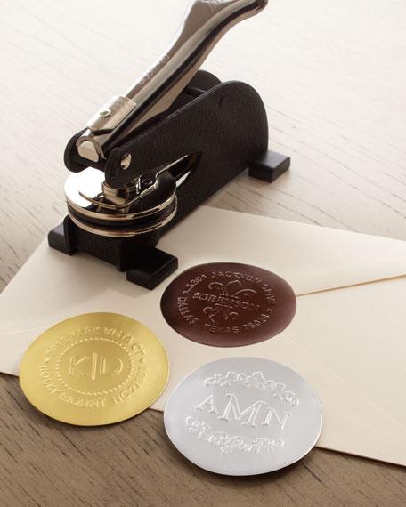 Three Designing Women Fleur-de-Lis Address Embosser