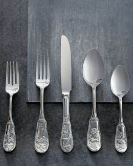 "20-Piece ""Woodland"" Flatware Service"