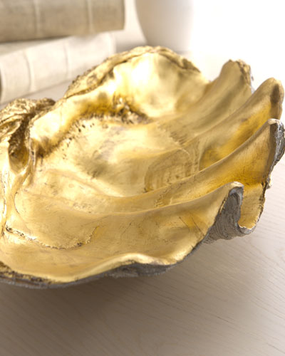 Golden Shell Bowl