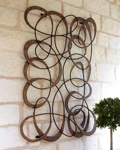 Mingling Circles Wall Decor