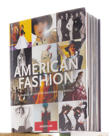 American Fashion Hardcover Book