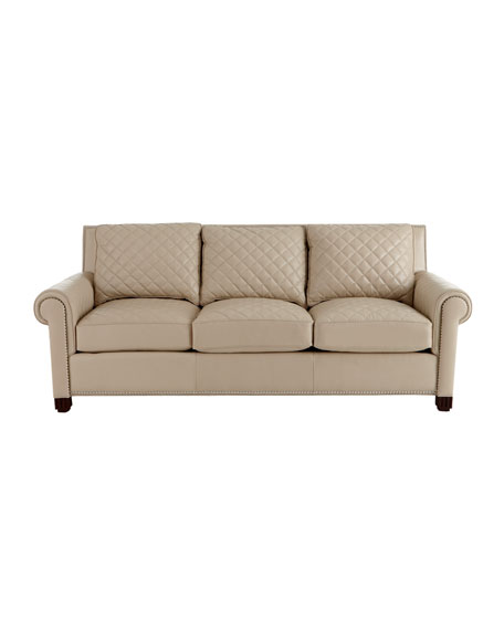 """Kara"" Leather Sofa"