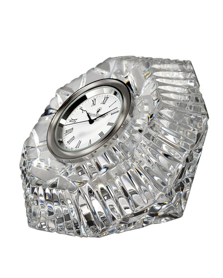 Lismore Diamond-Shaped Clock