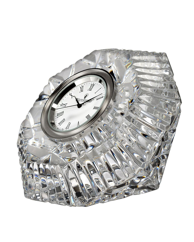 Waterford Crystal Lismore Diamond-Shaped Clock | Neiman Marcus