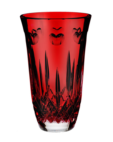 """I Love Lismore"" Red 8"" Vase"