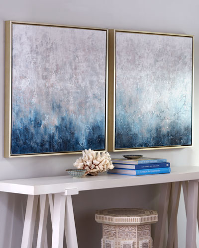 Art Wall Decor blue wall decor | decorating ideas