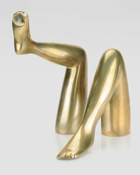 Kelly Wearstler Signature Bronze Legs