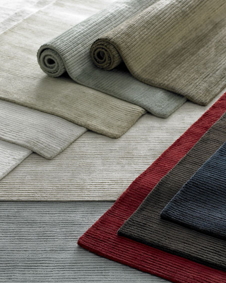 Exquisite Rugs Textured Lines Rug