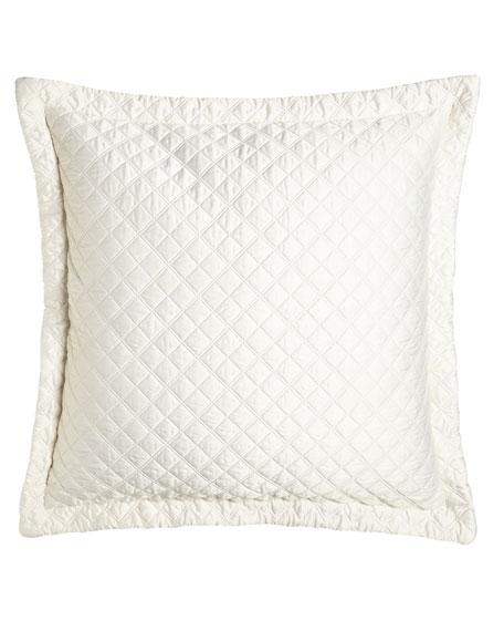 Lili Alessandra Jackie Quilted European Pillow, 32