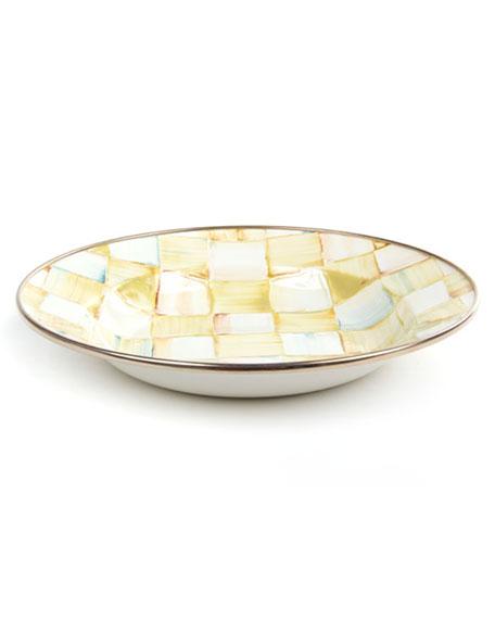 MacKenzie-Childs Parchment Check Breakfast Bowl